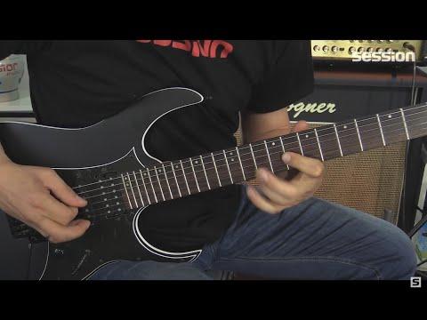 Ibanez RG350ZB-WK E-Gitarren-Review Von Session