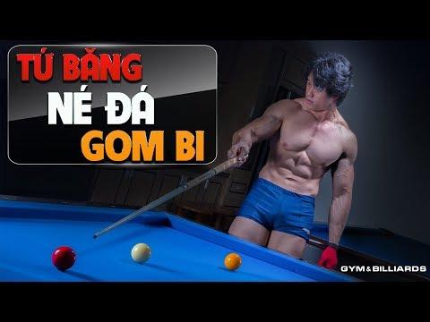 Gym & Billiards | Tứ băng né đá gom bi - Hướng dẫn bida cho gymer