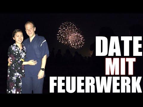 Unser Date Mit Feuerwerk In Ashiya - Japanisches Fest