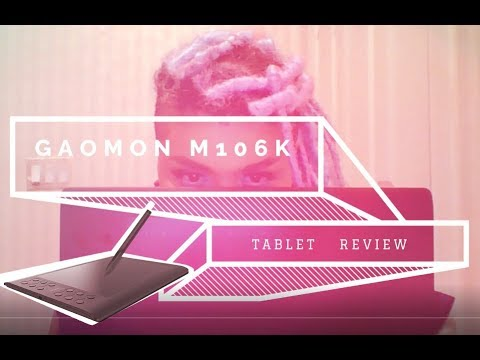 AFFORDABLE DRAWING TABLET REVIEW | GAOMON M106K