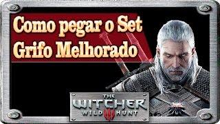 COMO PEGAR OS ITENS DA ARMADURA DO GRIFO MELHORADA - THE WITCHER 3