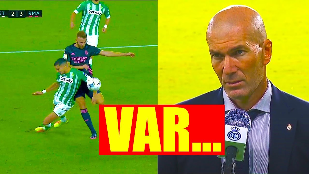 NEW MESS in LA LIGA! REAL MADRID WIN with VAR helping! What the hell happened in Betis vs Real match