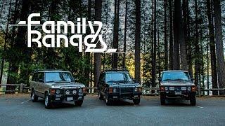 The Range Rover Classics: One Family, Three 4x4s