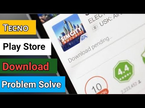 Tecno Phone Play Store Download Pending Problem Solve 100%  Working Tips