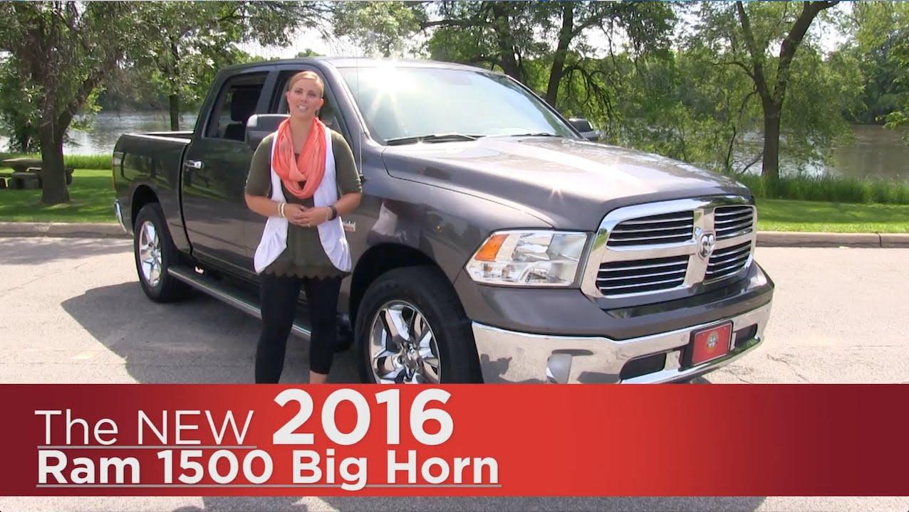 The New 2016 Ram 1500 Big Horn - Elk River, Coon Rapids ...