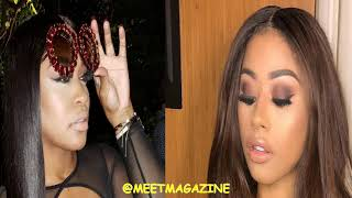 Hennessy Carolina fight vs Rah Ali over Cardi B phone number leak & messages about Kulture! #LHHNY