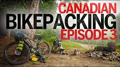 Ontario Bikepacking - Day 3 & 4 - Plevna to Sharbot Lake via the Trans-Canada Trail (FOOD!)