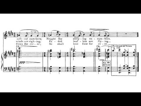 Charles Ives - Cradle Song
