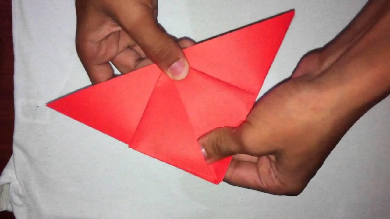 como hacer un globo de origami decoracin de papel para fiestas youtube