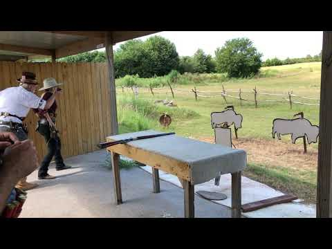 Storme - Stage  2 - August 2019 Match - Cowboy Action Shooting