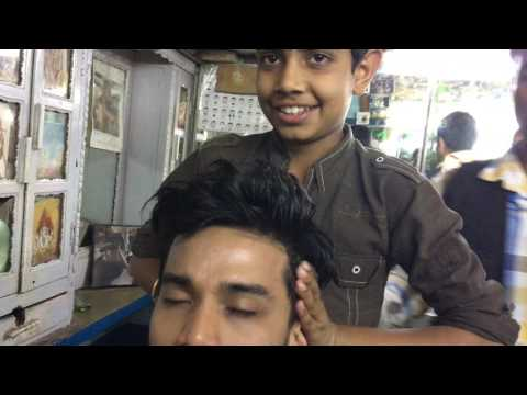 Young Indian Barber (Father teaching Son) Part-1| 4K