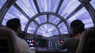 Millennium Falcon: Smugglers Run Attraction Teaser! Star Wars Galaxy's Edge Walt Disney World