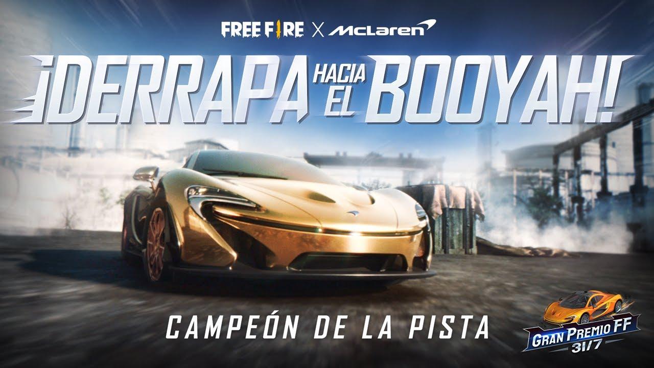 ¡Campeón de la Pista! 🏁 - McLaren en Free Fire - Animación | Garena Free Fire