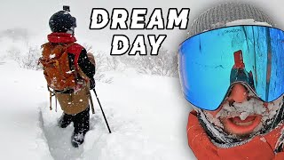 3ft DREAM Powder Day | Snowboarding in Japan