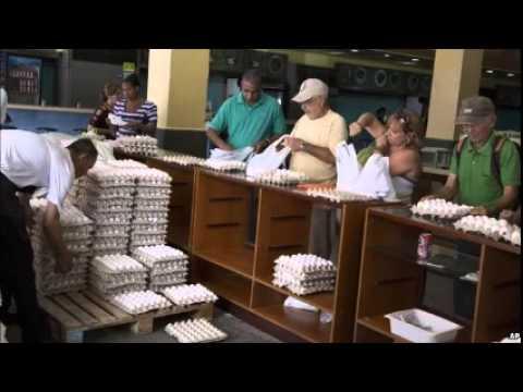 Cuban officials jailed over egg black market scam