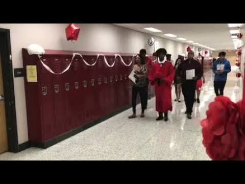 Tunstall High School graduation