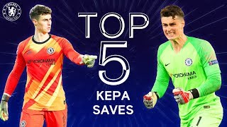 Top 5 Kepa Arrizabalaga Wonder Saves | Chelsea Tops