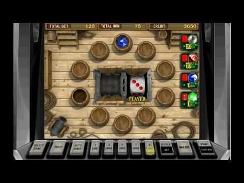 PIRATE 2 +BARREL BONUS GAME!!! +WIN!!! Online Free Slot SLOTSCOCKTAIL Igrosoft HHS
