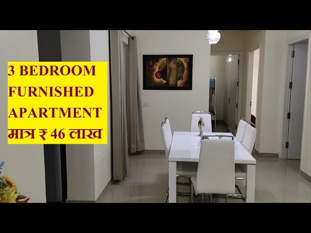 1375 Sq Ft 3 Bedroom Fully Furnished Apartments With Interior Sandwoods Opulencia Youtube