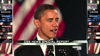 Barack Obama 2008 Presidential Victory Speech..Oh Yes We Can & Must Keep Moving Forward!