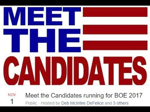 Meet the Candidates Monroe Township Board of Education 1 of 2