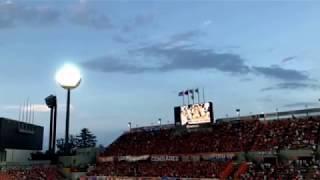 アルビレックス新潟の応援がすごいんじゃ、0813 ナクスタ.
