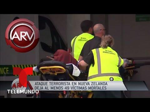 Ataque terrorista mancha de sangre a Nueva Zelanda   Al Rojo Vivo   Telemundo