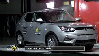 Euro NCAP Crash Test of SsangYong Tivoli