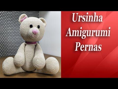 Urso Panda | Urso panda, Urso de crochê, Panda | 360x480