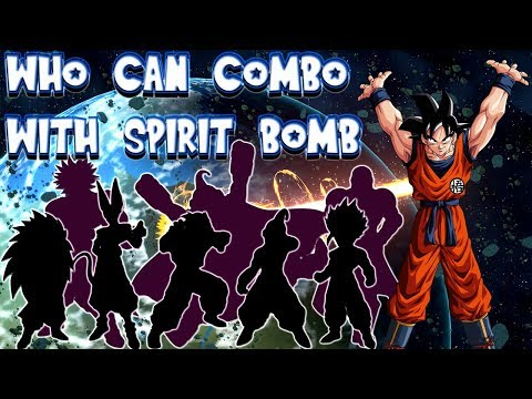 DBFZ PSA: Who can combo with Spirit Bomb