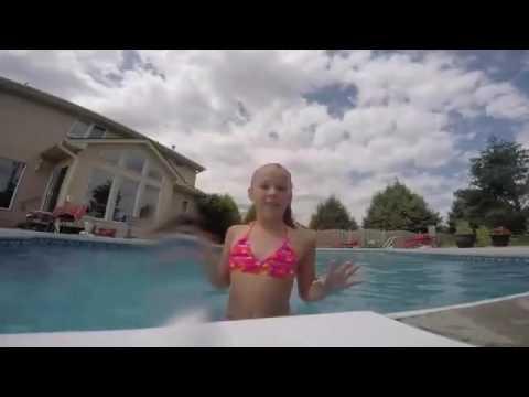 af993b8c1b Jojo Siwa at the pool - YouTube