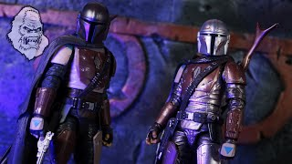 Black Series Mandalorian Review & Comparison (Carbonized vs First Edition: What's the Difference?!?)