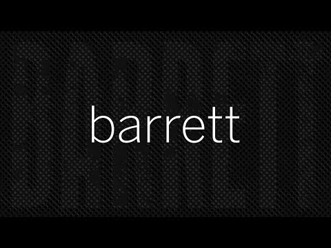 BARRETT ~ Mike Simpson: keyboards. Clark Mantei: production.