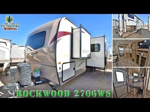 New 2017 FOREST RIVER ROCKWOOD 2706WS R1050 Colorado RV Dealer