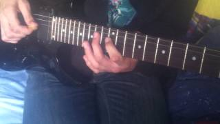 Helloween - Follow The Sign (Guitar Lesson for Chris) READ DESCRIPTION