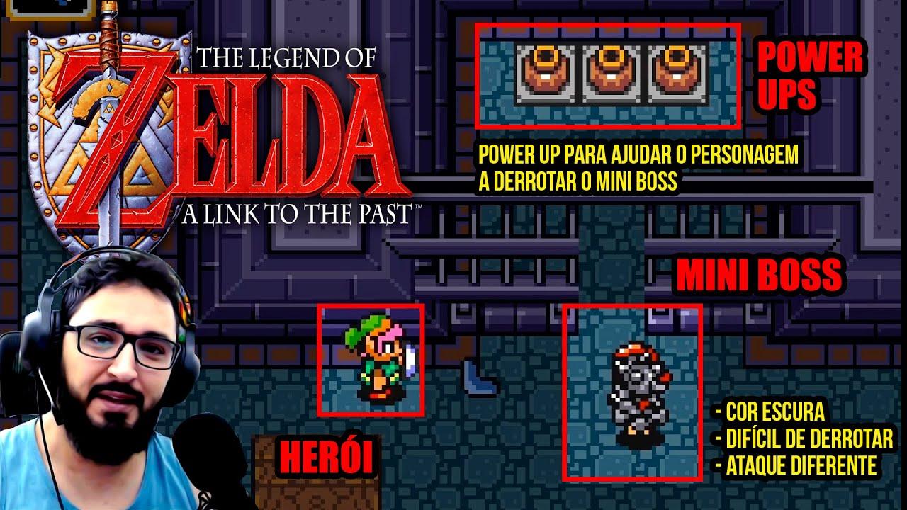 Jogando e Analisando: The Legend of ZELDA: A Link to the Past
