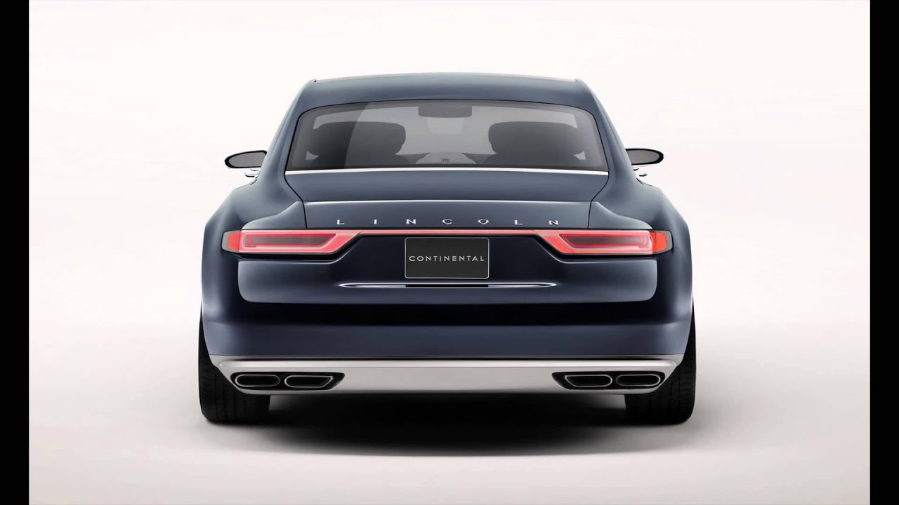 First Look: 2016 Lincoln Continental Concept Unveiled in New York ...