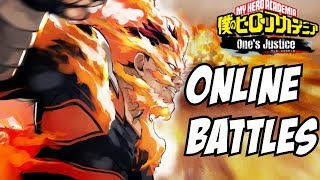 My Hero Academia One's Justice: Endeavor Online Flaming Matches