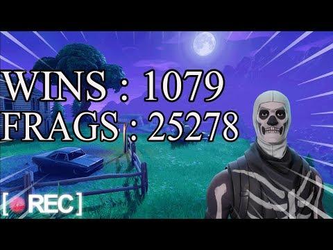 [FR/PC/LIVE] FORTNITE EN SOLO  / Wins : 1079