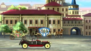 Азбука безпеки на дорозі тітоньки Сови - Історія правил дорожнього руху (Уроки тетушки Совы) серия 1