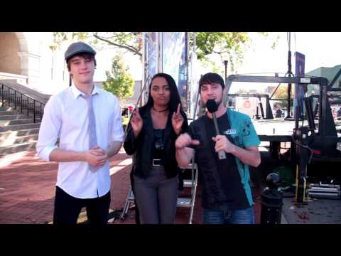 Interview with Mitchell Hope & China Mcclain
