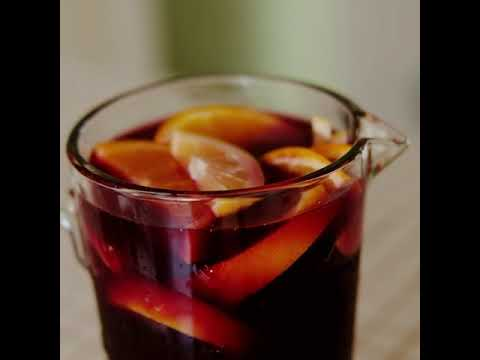 How To Make Sangria in 20 Seconds