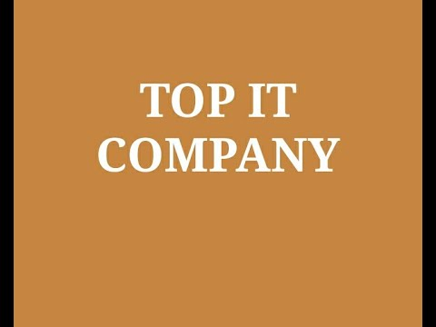 Top 10 IT Company in India 2020 |  Best Information Technology service Companies