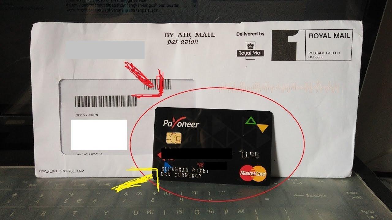 cara membuat kartu debit mastercard