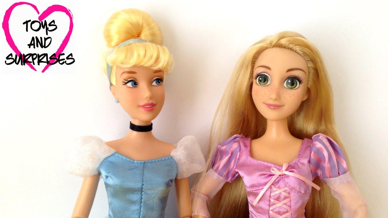 Куклы Принцессы Диснея Золушка и Рапунцель Игрушки для ...