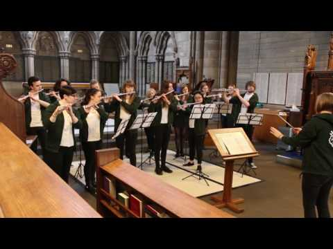 Glasgow University Music Club Flute Choir - Flutewise/ABRSM Flute Choir Competition, 2017
