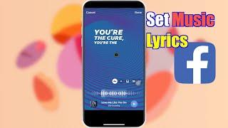 How to Set Music Lyrics to FB Stories