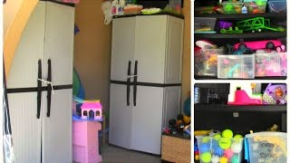 Toy Storage And Organization! | Veda Day 22