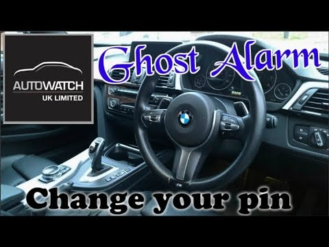 2019 best key less entry car alarm Ghost DEMO  change pin code