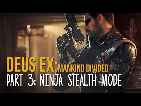 STEALING TOP SECRET DATA   Deus Ex Mankind Divided Gameplay Part 3 (PC Ultra)